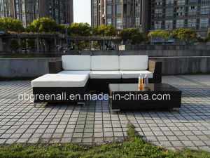 Plastic Rattan Woven Furniture Outdoor Sofa pictures & photos