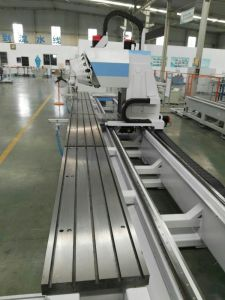 Aluminum Window Door Curtain Wall 4 Axis CNC Processing Center pictures & photos