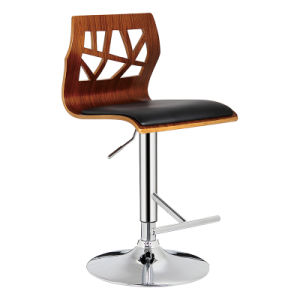 Restaurant Dining Coffee Furniture Swivel Bentwood Bar Stools Chair (FS-WB1032) pictures & photos