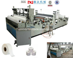 High Speed Rewinder Big Toilet Paper Business Machine pictures & photos