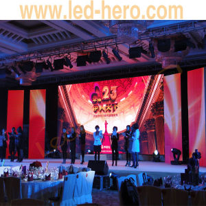 P3 Indoor Big Viewing Angle HD Die-Casting Aluminum China LED Screen-Rental Type