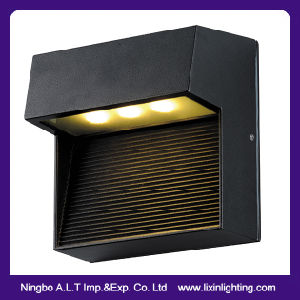 Square IP54 LED Wall Lamp 3*1W Edison Chip Hotel & Home Decoration pictures & photos
