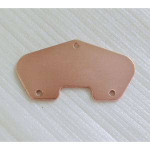 Steel Material Copper Plated Tele Guitar Bridge Pickup Baseplate pictures & photos