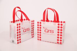 Xyfd-500 Non Woven Box Bag with Loop Handle Bag Making Machine pictures & photos