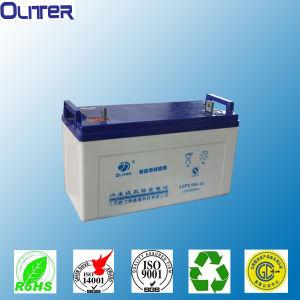 Gel Battery 12V100ah for Solar Power System or Street Light pictures & photos