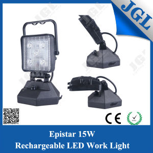 Portable Rechargeable 15W LED Flood Light Work Lamp
