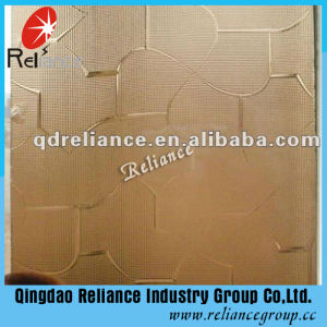 3-8mm Tinted Patterned Glass/Figured Glass pictures & photos