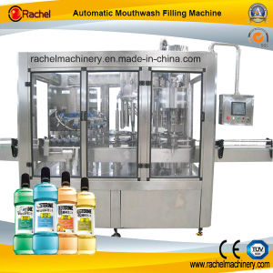 Mouthwash Automatic Rotary Type Filling Machine pictures & photos