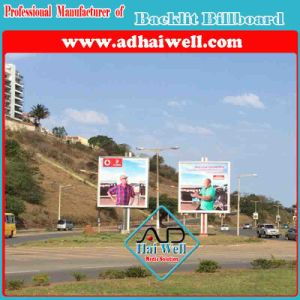 Column Advertising Billboard Backlit Display pictures & photos