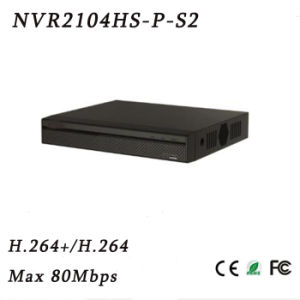 4 Channel Compact 1u 4poe HDMI/VGA Simultaneous Video Output Lite Network Video Recorder{NVR2104HS-P-S2} pictures & photos
