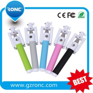 2015 New Mini Portable Arrival Foldable Wholesale Bluetooth Selfie Stick pictures & photos