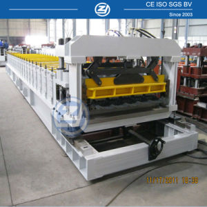 Prepainted Colored Roofing Tile Roll Forming Machine pictures & photos