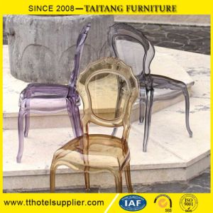 Belle Epoque Chair Transparent Outdoor Plastic Chair for Wedding pictures & photos