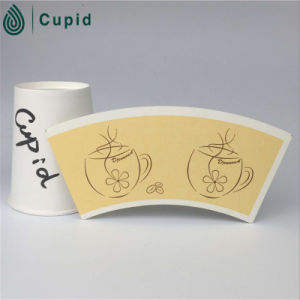 Hztl Cappuccino Cup Paper Cup Fan Coated PE pictures & photos