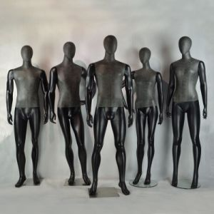 Leather Wrapped High Quality Male Mannequin for Men Suits pictures & photos
