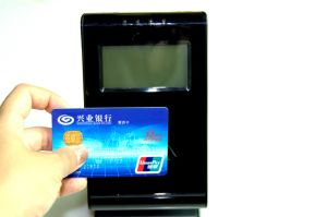 T80 POS Terminal, RFID, MIFARE Card Reader in Reataurant, Supermarket pictures & photos