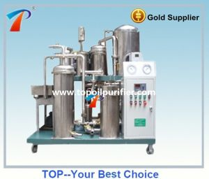 Stainless Steel Vacuum Fire Resistance Oil Edulcoration System Purification Device pictures & photos