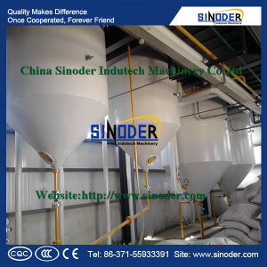 Sunflower, Peanut, Soybean Crude Oil Refinery/Edible Oil Refinery Plant pictures & photos