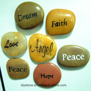 Carved Engraved Stone Multicolor 20mm-40mm pictures & photos