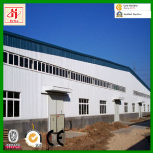 Metal Frame Steel Prefabricated Workshop pictures & photos