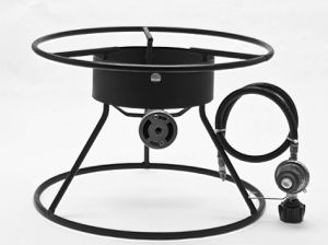 Outdoor Cooker with One High Pressure Burner