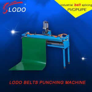 New Type PVC PU Belt Finger Punching Machine No Width Limilted pictures & photos