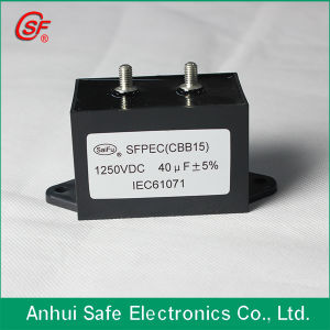 Metallized Polypropylene Film Capacitor Cbb15 for Power pictures & photos