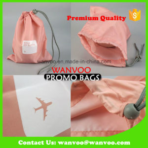 Custom Fashion Polyester Drawstring Bag with High Quality pictures & photos