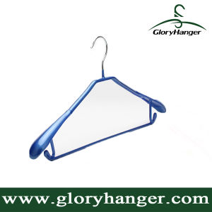 PVC Coated Metal Hanger for Clothes (GLMH04) pictures & photos
