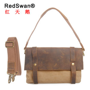 British Retro Waterproof Canvas Shoulder Bags Messenger Crossbody Bag (RS-6633) pictures & photos