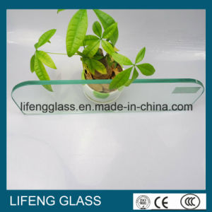 Safety Special Shaped Toughened Tempered Glass With Polished Edge for Appliance