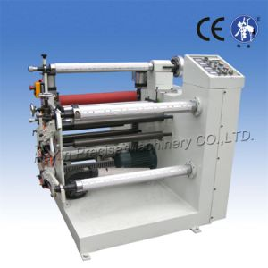 Low Price Stain Label Roll Slitting Machine pictures & photos