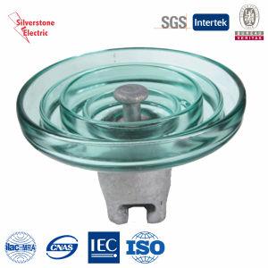 U420 210kn Toughened Glass Suspension Insulator IEC