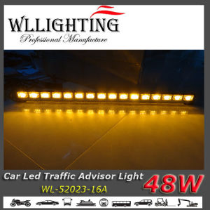 39 Inch Amber LED Bar Light with Arrow Warning Lights pictures & photos