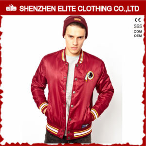 Wholesale Men Varsity Baseball Jacket Satin Custom pictures & photos