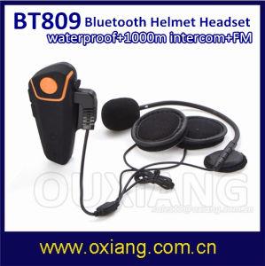 Watwrproof 1000m Bt Interphone Bluetooth Motorcycle Motorbike Helmet Intercom Headset pictures & photos