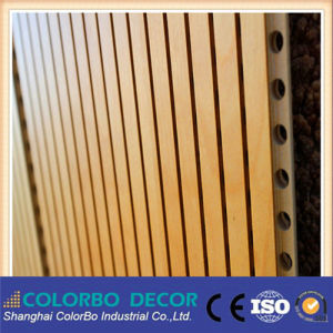 MDF Wall Cladding Decorative Board Wooden Acoustic Panels pictures & photos