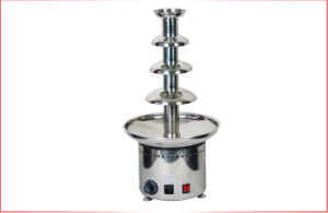 Good Quality Large Party 4 Tiers Commercial Chocolate Fountain Machine with Ss Material pictures & photos
