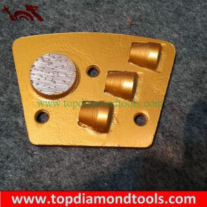 PCD Trapezoid Epoxy Removing Diamond Metal Segment pictures & photos
