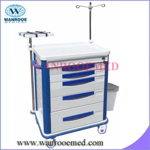 Emergency Cart with IV Pole pictures & photos