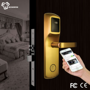 New Design RF Card Hotel WiFi Door Lock pictures & photos