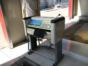 Manually Operated Car Mats Washing Machine pictures & photos