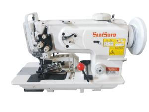 Compund Feed Machine with Cutting and Binding Sewing pictures & photos