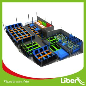 ASTM Approved Indoor Spring Trampoline Park pictures & photos