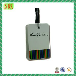 Custom Laminated Art Paper Hang Tag with Printed Logo pictures & photos