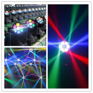 7X12W RGBW Mini LED Moving Head Bee Eye pictures & photos