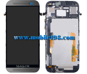 for HTC One M8 LCD Screen with Touch Screen with Front Housing pictures & photos