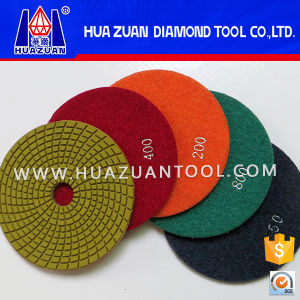 100mm Concrete Polishing Pad pictures & photos
