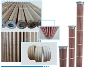 High Temperature Spun Bonded Air Filter Cartridge pictures & photos