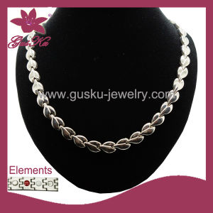 Fashion Jewelry Health Care Stainless Steel Necklace (2015 Gus-Stn-001) pictures & photos